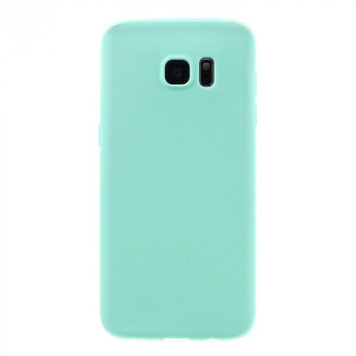 Husa Color Soft TPU Cover Samsung Galaxy S7 Edge - blue 1