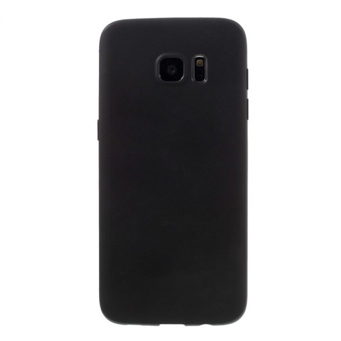 Husa Color Soft TPU Cover Samsung Galaxy S7 Edge - negru 2