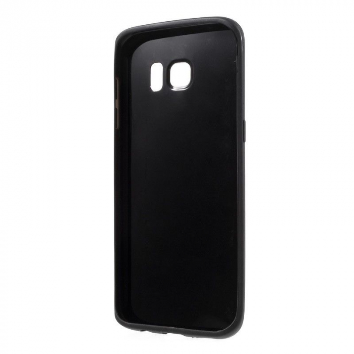 Husa Color Soft TPU Cover Samsung Galaxy S7 Edge - negru 1