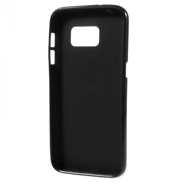 Husa Color Soft TPU Cover Samsung Galaxy S7 - negru 4