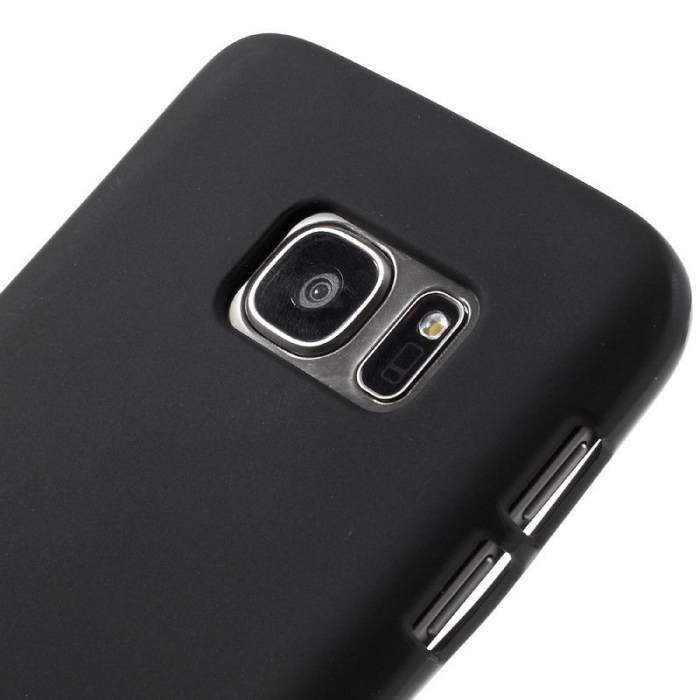 Husa Color Soft TPU Cover Samsung Galaxy S7 - negru 3