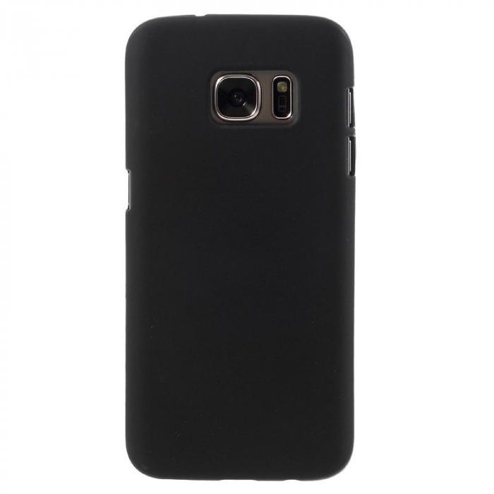 Husa Color Soft TPU Cover Samsung Galaxy S7 - negru 1