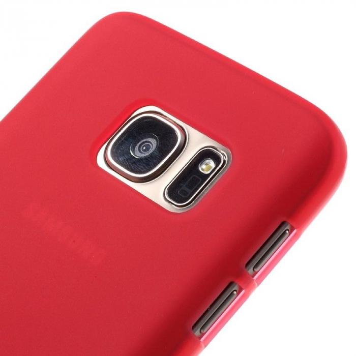 Husa Color Soft TPU Cover Samsung Galaxy S7 - rosu 4