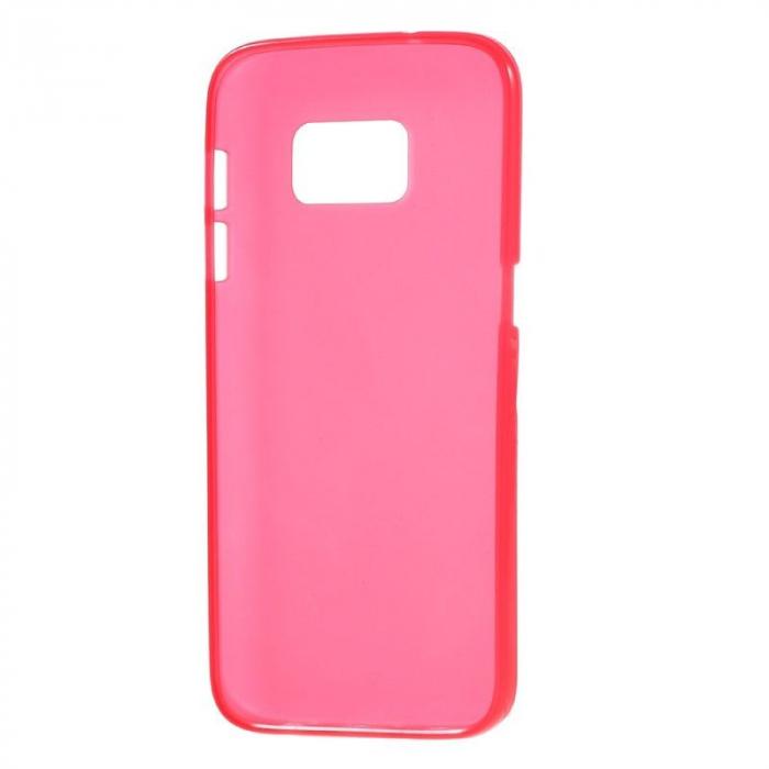 Husa Color Soft TPU Cover Samsung Galaxy S7 - rosu 2