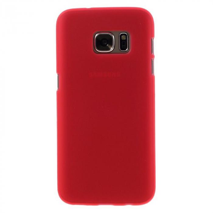 Husa Color Soft TPU Cover Samsung Galaxy S7 - rosu 1