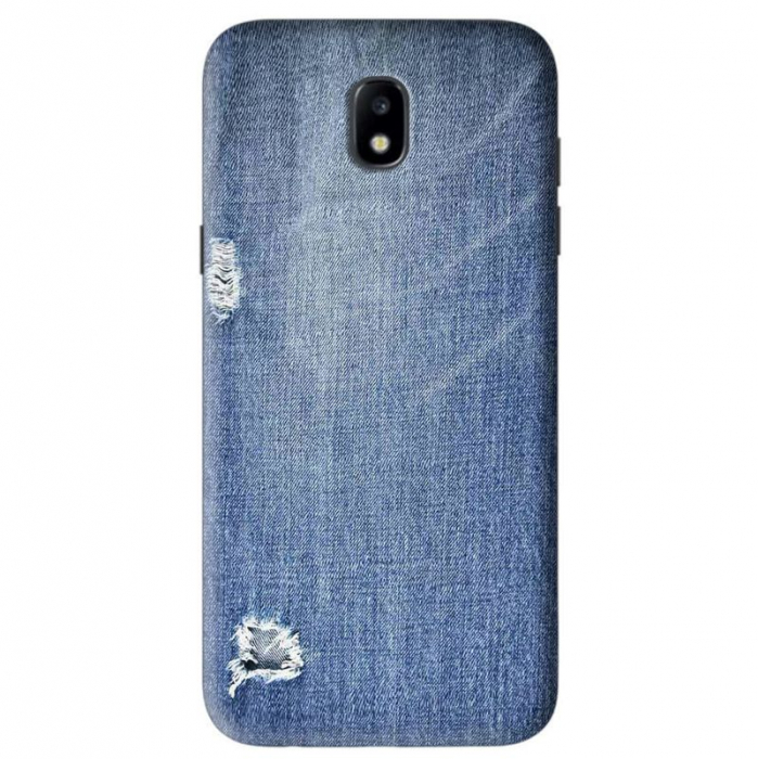 Husa Samsung Galaxy J5 2017 Custom Hard Case Blue Jeans  0