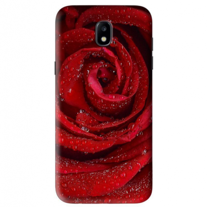 Husa Samsung Galaxy J5 2017 Custom Hard Case Red Rose  0