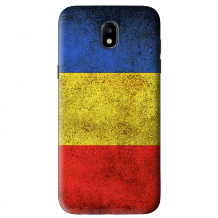 Husa Samsung Galaxy J5 2017 Custom Hard Case RO Flag  0