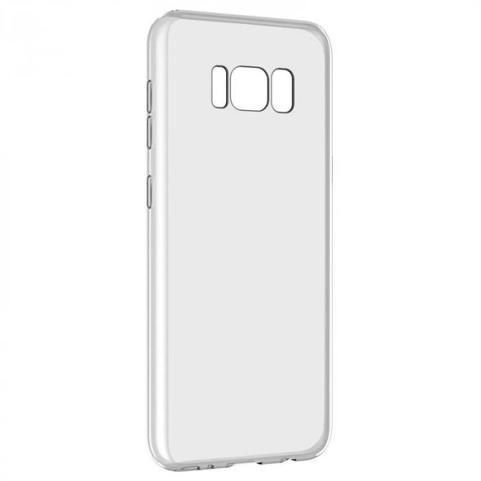 Husa Devia Ultra Thin Soft TPU Samsung Galaxy S8 - transparent 0