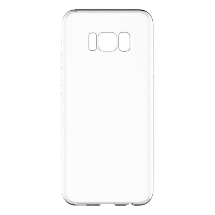 Husa Devia Ultra Thin Soft TPU Samsung Galaxy S8 - transparent 3