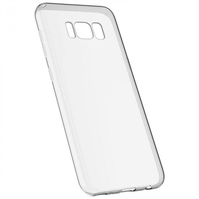 Husa Devia Ultra Thin Soft TPU Samsung Galaxy S8 - transparent 5