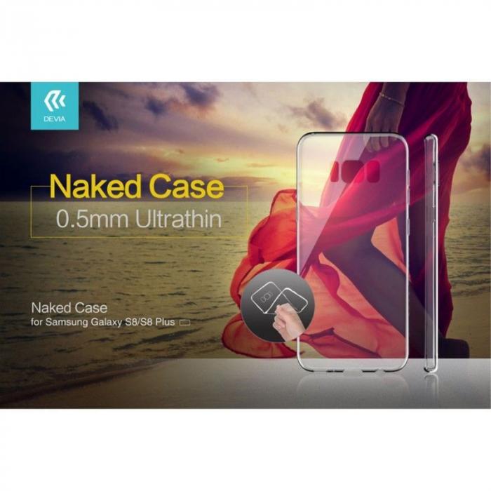 Husa Devia Ultra Thin Soft TPU Samsung Galaxy S8 - transparent 2