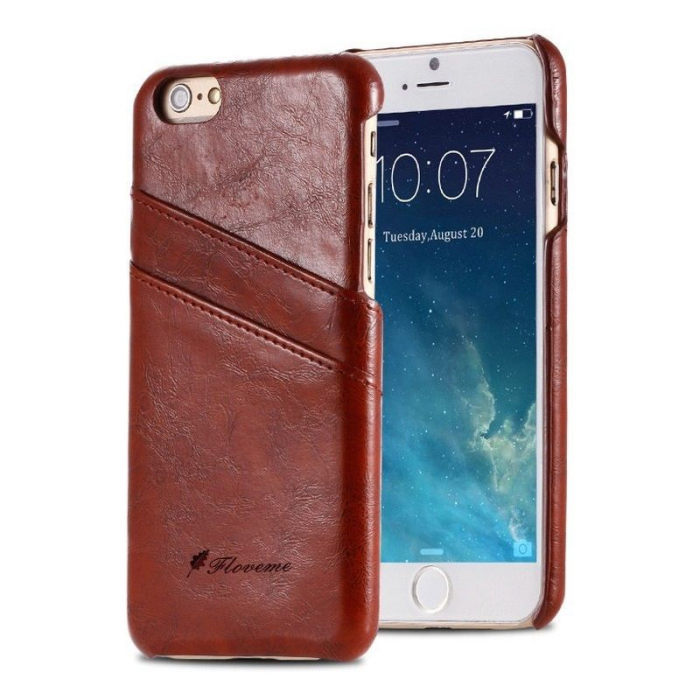 Husa iPhone 6 / iPhone 6S Fashion Case - maro 0