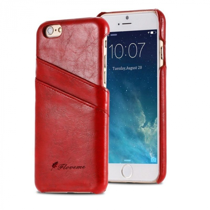 Husa iPhone 6 / iPhone 6S Fashion Case - rosu 0