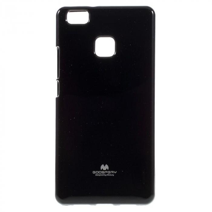 Husa Huawei P9 Lite Goospery Glitter Soft TPU - negru 1