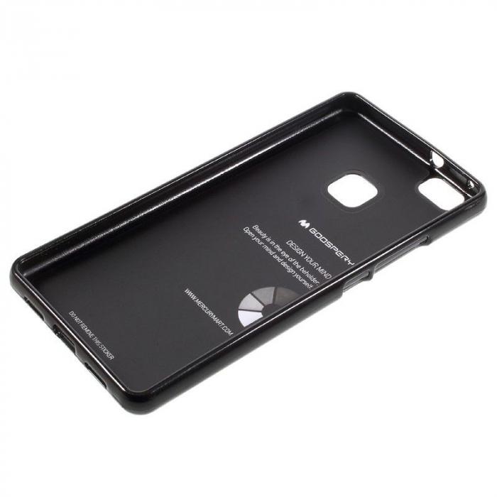 Husa Huawei P9 Lite Goospery Glitter Soft TPU - negru 5