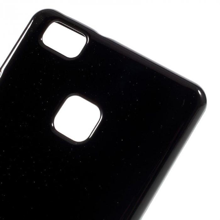 Husa Huawei P9 Lite Goospery Glitter Soft TPU - negru 3