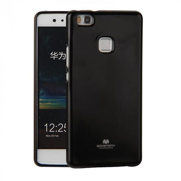Husa Huawei P9 Lite Goospery Glitter Soft TPU - negru 0