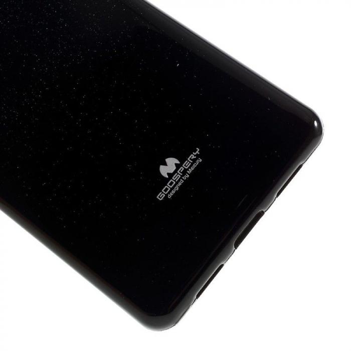 Husa Huawei P9 Lite Goospery Glitter Soft TPU - negru 4