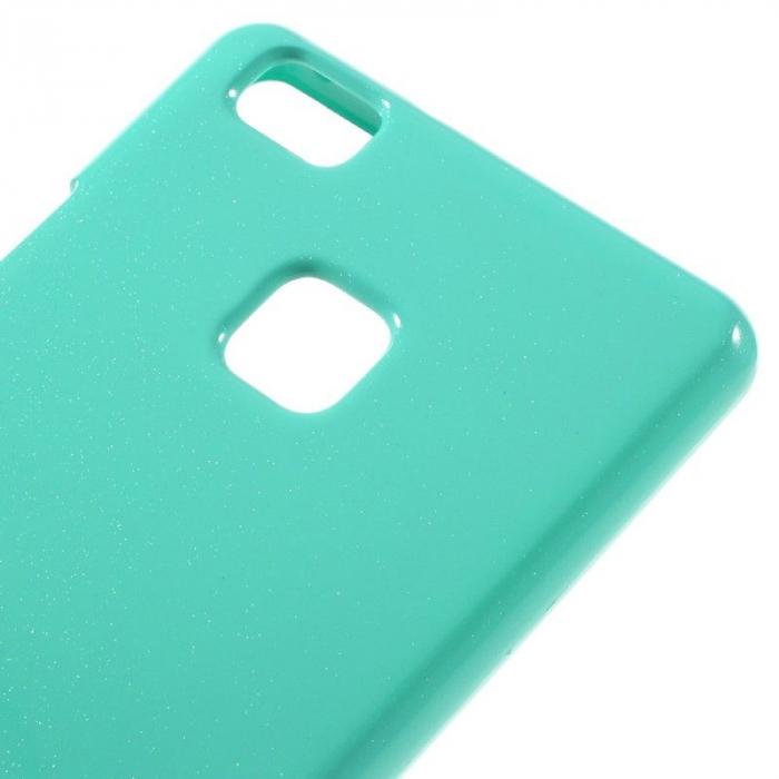 Husa Huawei P9 Lite Goospery Glitter Soft TPU - verde mint 4