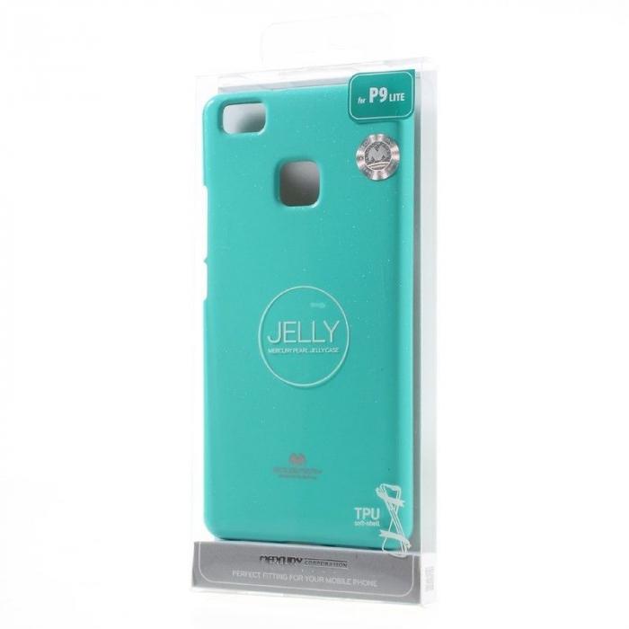 Husa Huawei P9 Lite Goospery Glitter Soft TPU - verde mint 6
