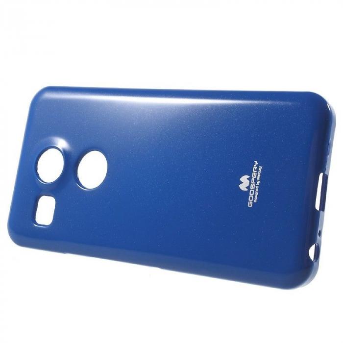 Husa Goospery Glitter Soft TPU LG Google Nexus 5X - albastru 2