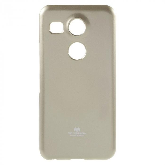 Husa Goospery Glitter Soft TPU LG Google Nexus 5X - gold 0