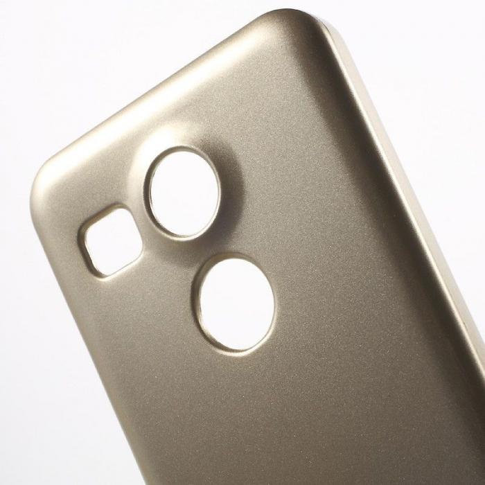 Husa Goospery Glitter Soft TPU LG Google Nexus 5X - gold 3