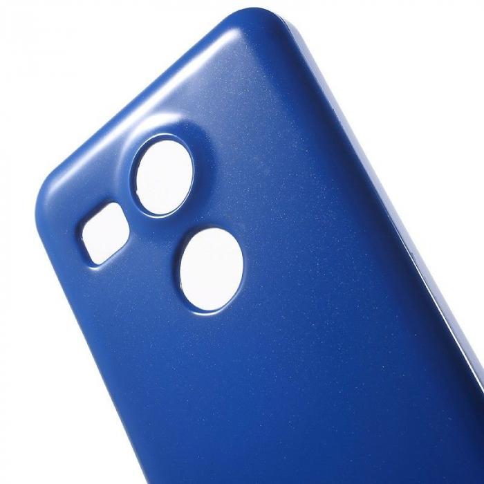 Husa Goospery Glitter Soft TPU LG Google Nexus 5X - albastru 1