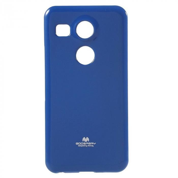 Husa Goospery Glitter Soft TPU LG Google Nexus 5X - albastru 0