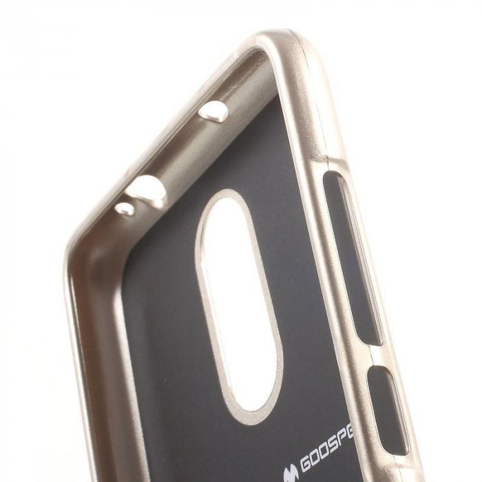 Husa Goospery Glittery TPU Xiaomi Redmi Note 3 - gold [4]