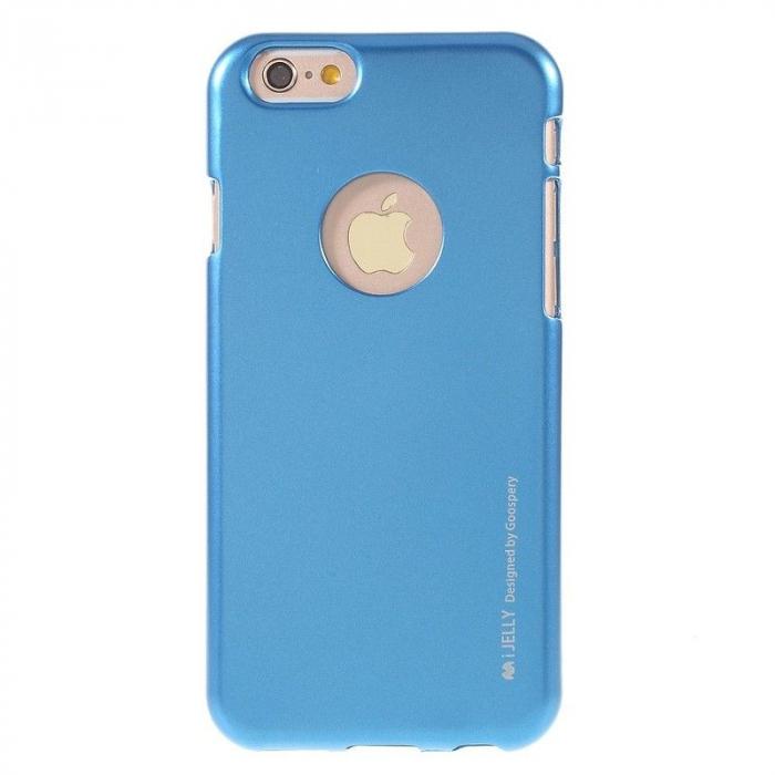 Husa iPhone 6 / iPhone 6S Goospery i JELLY - albastru 0