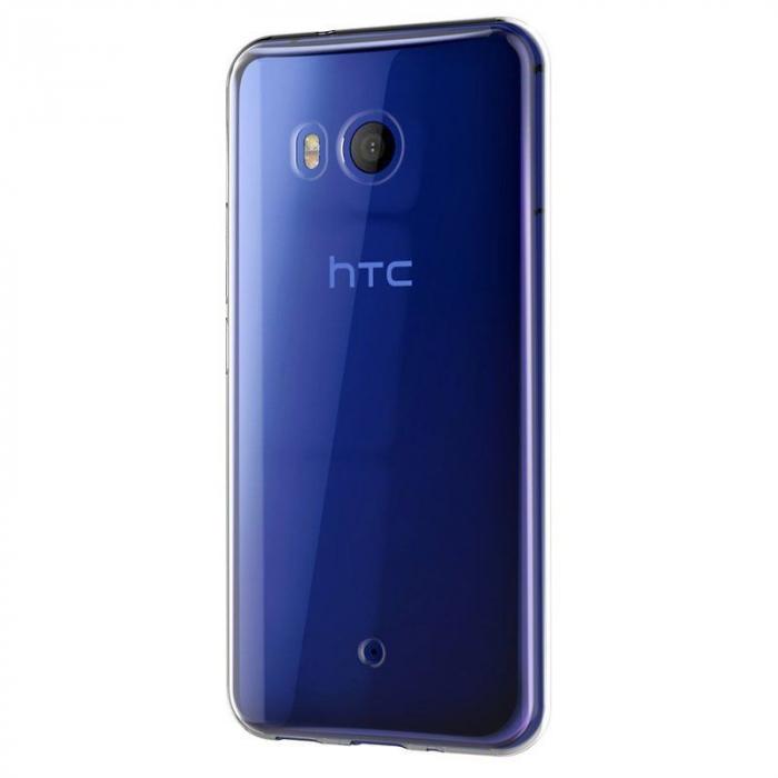 Husa HTC U11 silicon TPU extra slim 0.5 mm - transparent 4