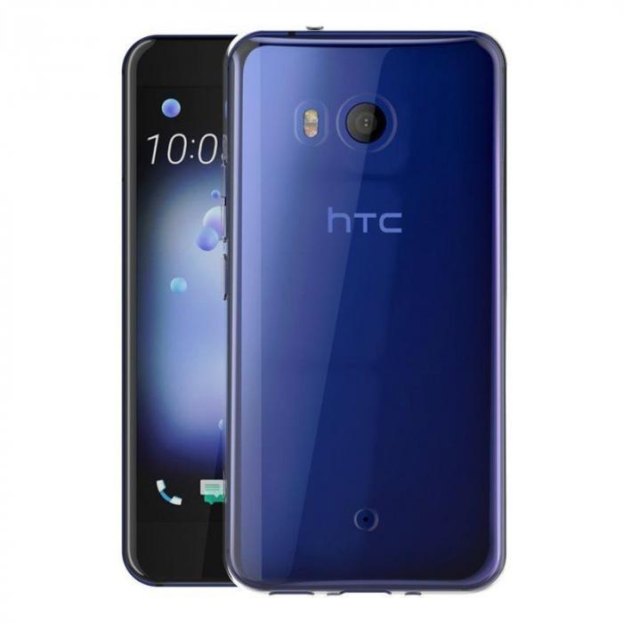 Husa HTC U11 silicon TPU extra slim 0.5 mm - transparent 3