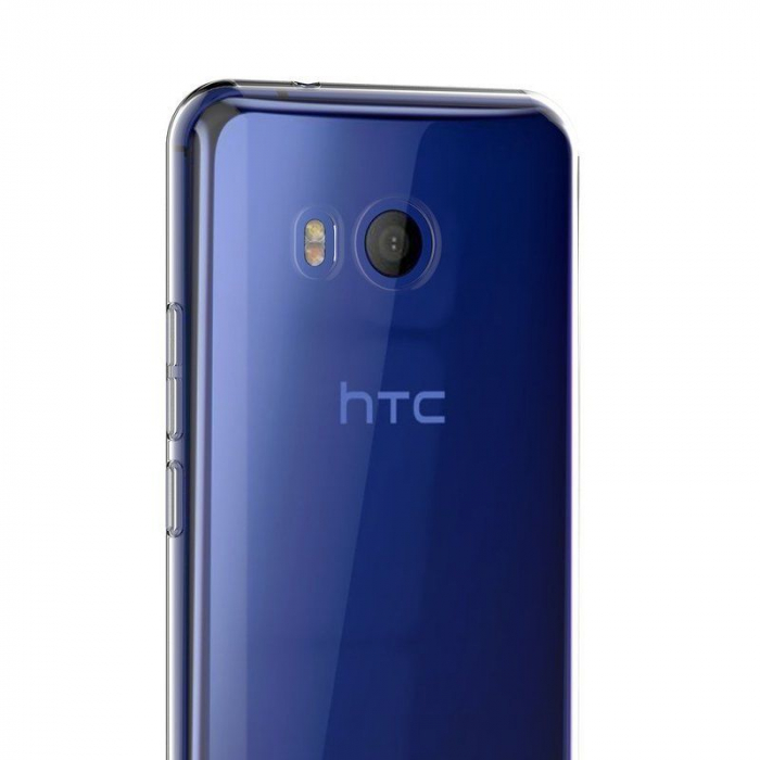 Husa HTC U11 silicon TPU extra slim 0.5 mm - transparent 6