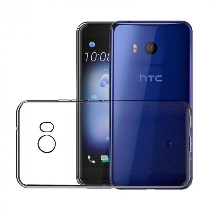 Husa HTC U11 silicon TPU extra slim 0.5 mm - transparent 5