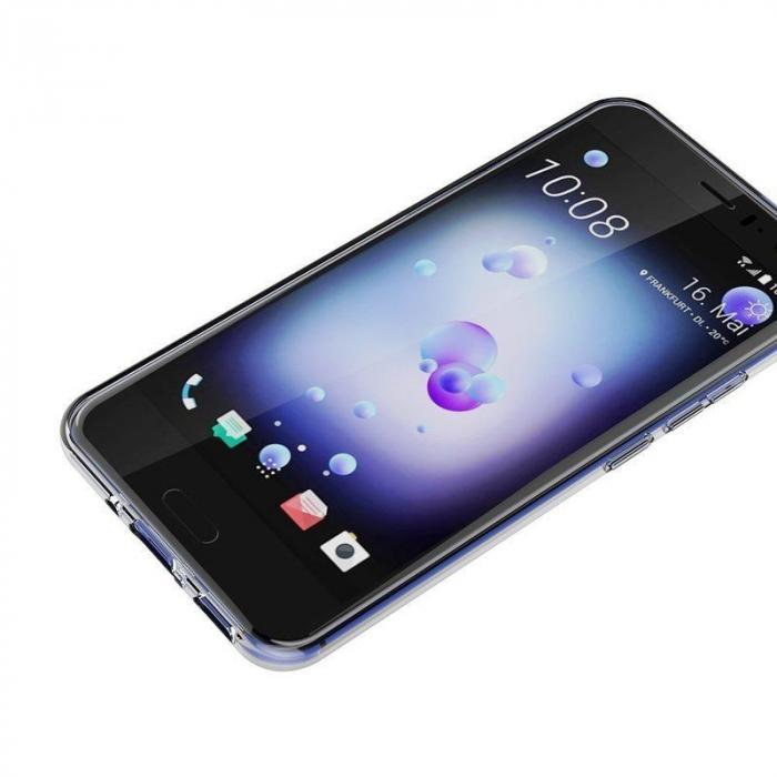 Husa HTC U11 silicon TPU extra slim 0.5 mm - transparent 7