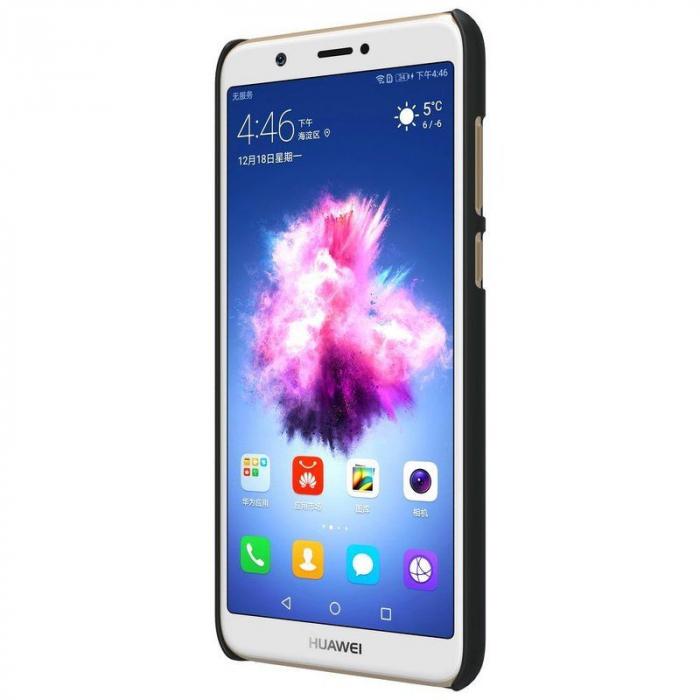 Husa  Huawei P Smart / Enjoy 7S Nillkin Frosted Shield - negru 3
