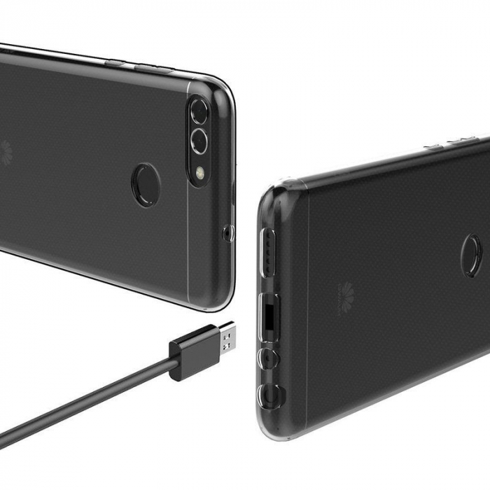 Husa Huawei P Smart / Enjoy 7S TPU Ultra Thin 0.5 mm  - transparent 4