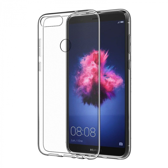 Husa Huawei P Smart / Enjoy 7S TPU Ultra Thin 0.5 mm  - transparent 2