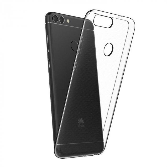 Husa Huawei P Smart / Enjoy 7S TPU Ultra Thin 0.5 mm  - transparent 1