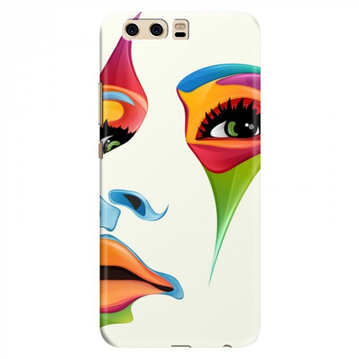 Husa Huawei P10 Custom Hard Case - Colored Face 0