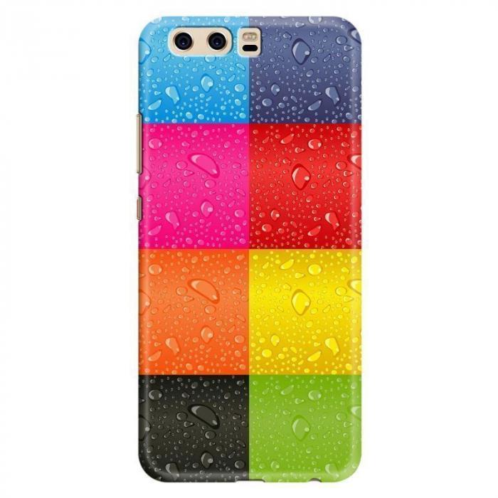 Husa Huawei P10 Custom Hard Case - Colorful Blocks 0