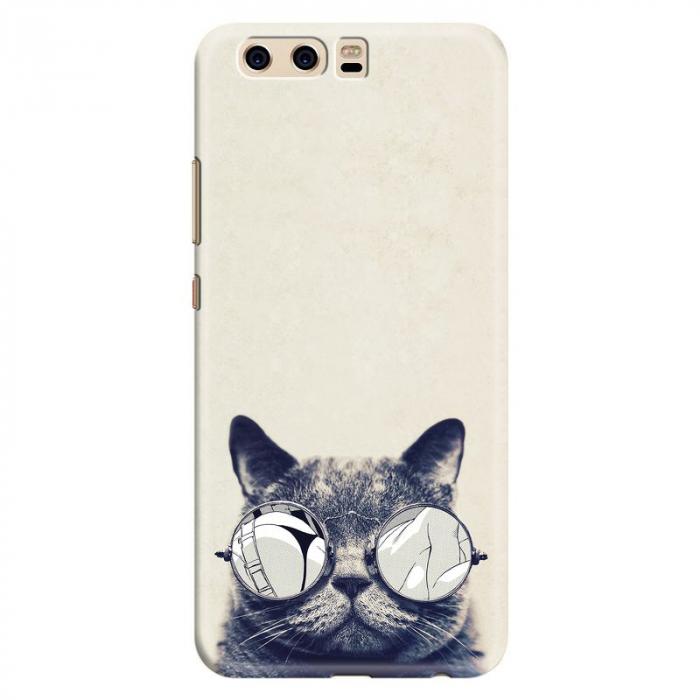 Husa Huawei P10 Custom Hard Case - Cool Cat 0