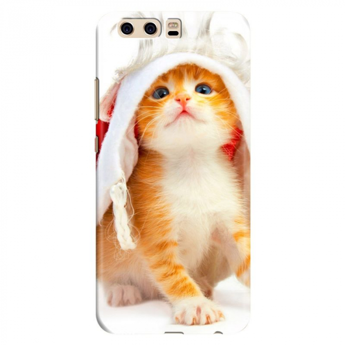 Husa Huawei P10 Custom Hard Case - Cute Cat 0