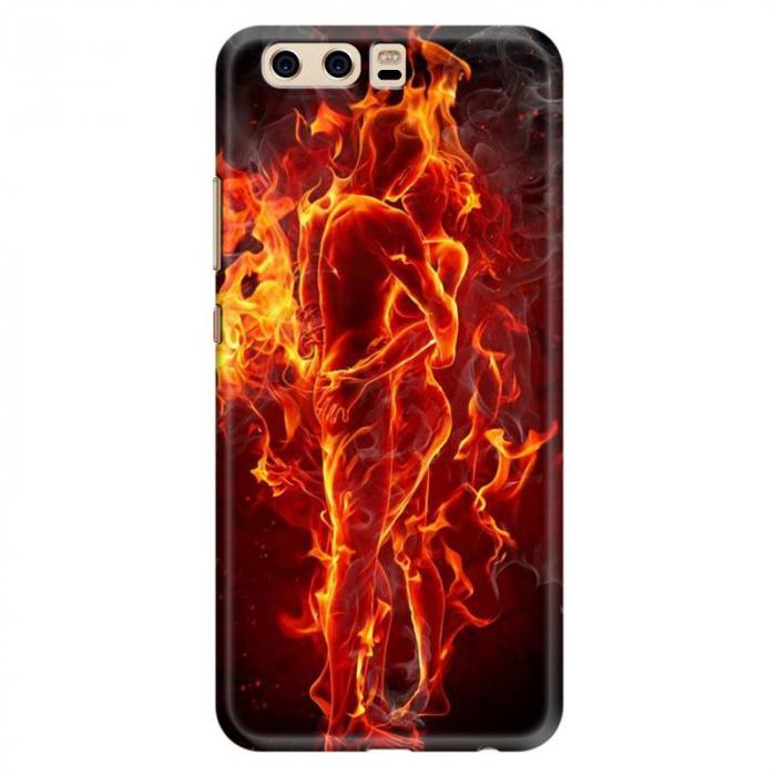 Husa Huawei P10 Custom Hard Case - Fire Love 0