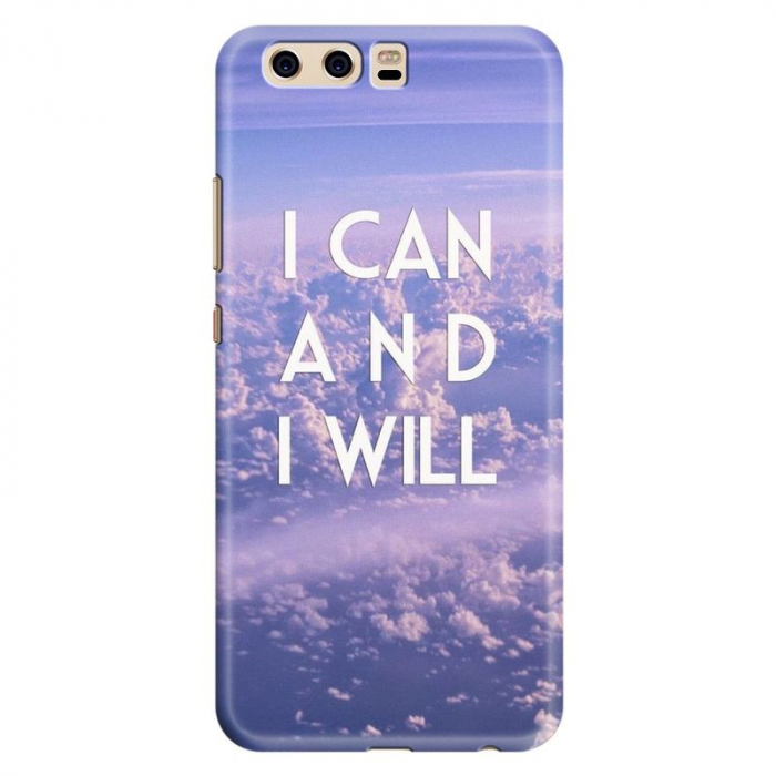 Husa Huawei P10 Custom Hard Case - I Can 0