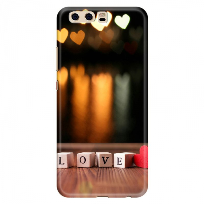 Husa Huawei P10 Custom Hard Case - Love & Heart 0