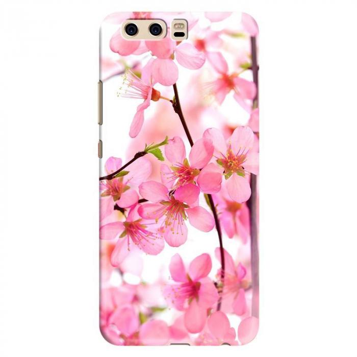 Husa Huawei P10 Custom Hard Case - Pink Flowers 0