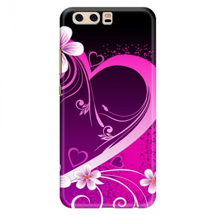 Husa Huawei P10 Custom Hard Case - Pink Heart 0